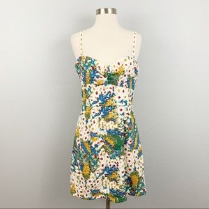 NWT Anthropologie HUTCH Floral Embroidered Dress